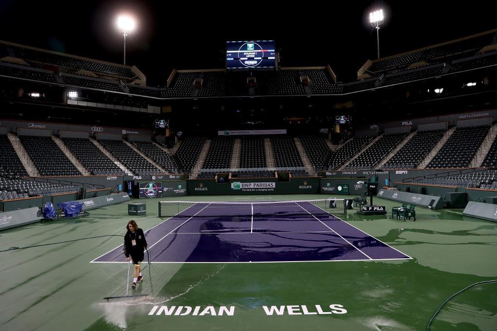 Az Indian Wells-i tornára feleslegesen készültek a teniszezők