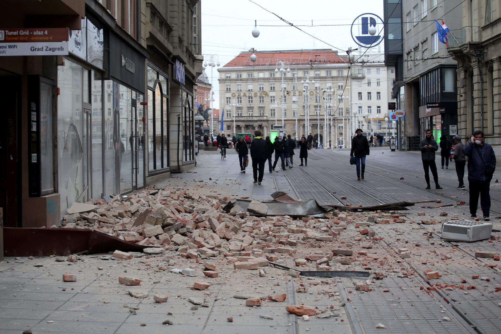 A földrengésben többen megsérültek