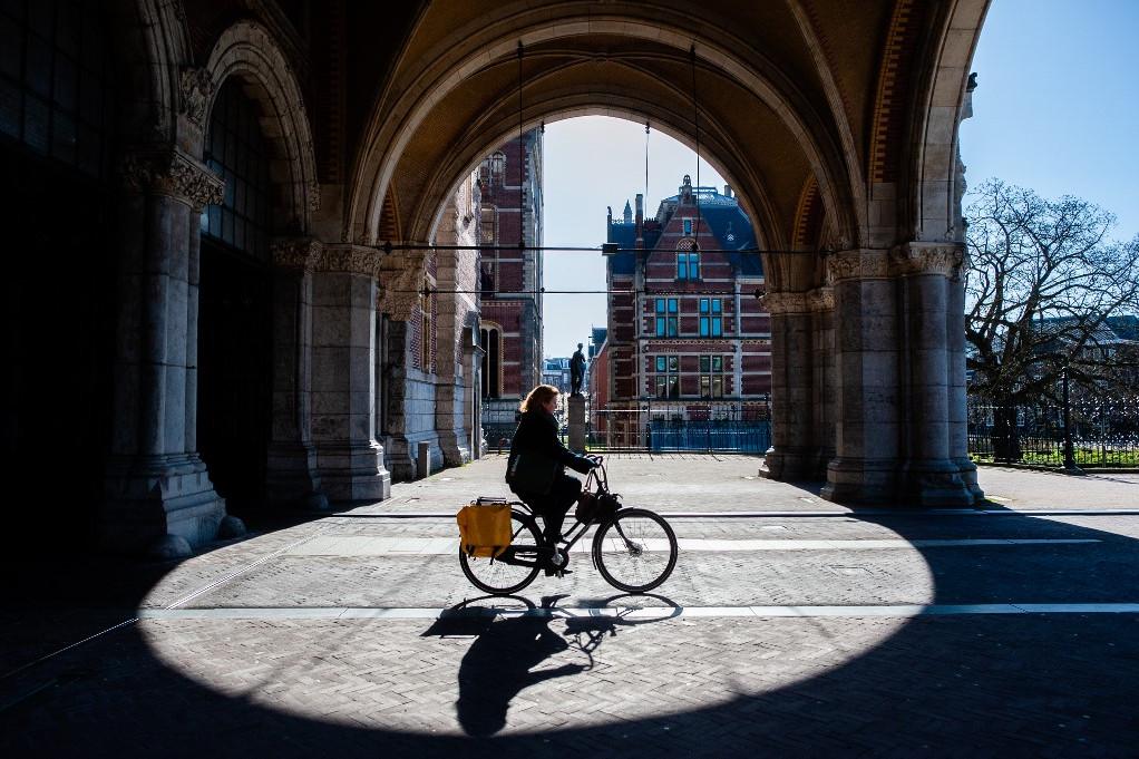 Amszterdam a koronavírus idején
