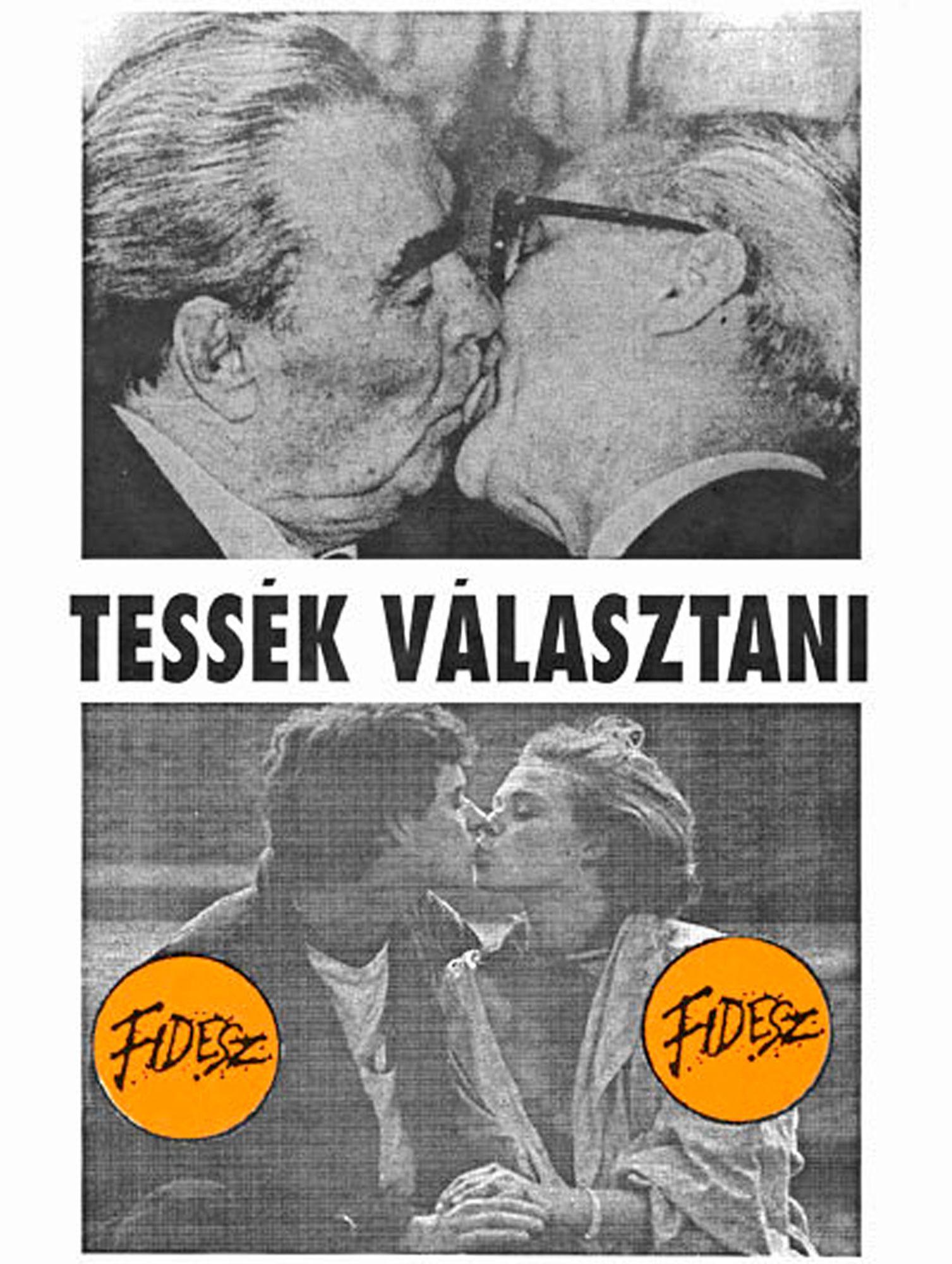 A Fidesz talán legismertebb választási plakátja: egyszerre szólt a szívhez és az észhez