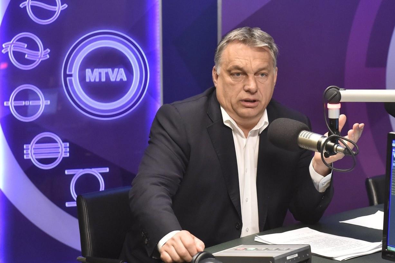 Orbán Viktor a Kossuth Rádióban (képünk illusztráció)