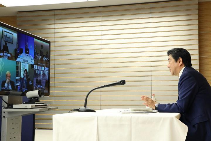 Abe Sindzó: A G7 a teljes olimpia mellett van