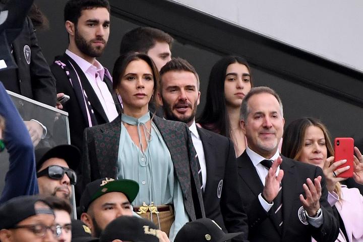 Lejátszotta első mérkőzését David Beckham csapata
