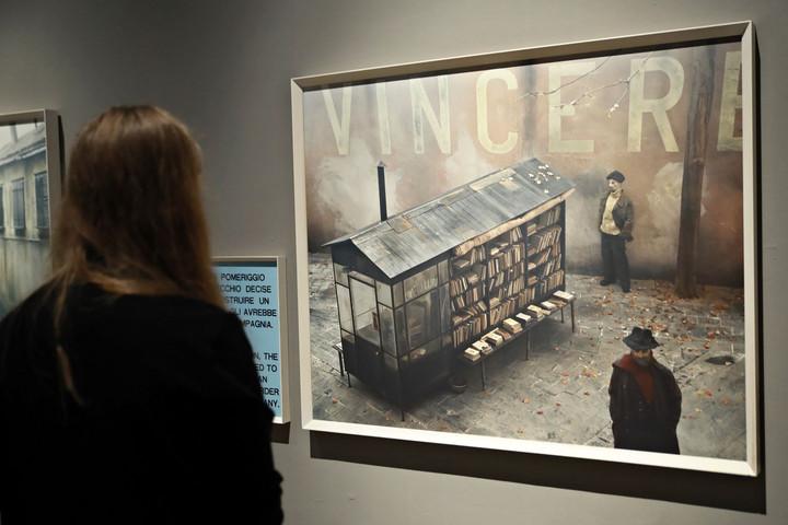 Paolo Ventura Velencei története a Műcsarnokban