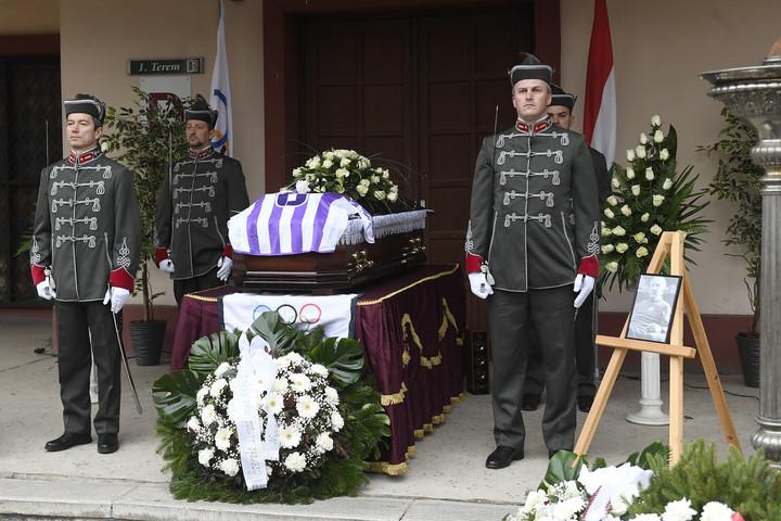 Eltemették Göröcs Jánost