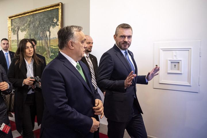 Orbán Viktor is részt vett a rendkívüli V4 csúcstalálkozón