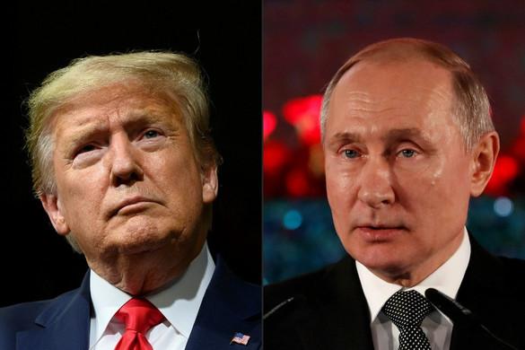 A koronavírus-járvány elleni küzdelemről tárgyalt Trump és Putyin