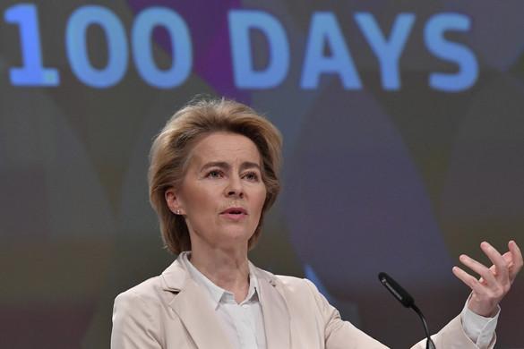 Von der Leyen: Csökkenteni kell a feszültségeket a görög-török határon