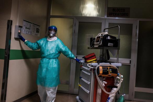 Napról napra több koronavírusos beteg hal meg Olaszországban