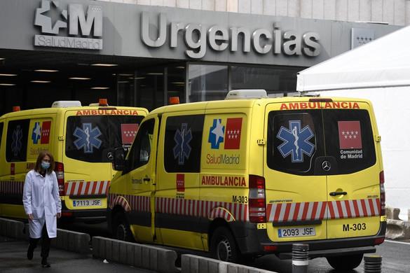 Már több mint 8 000 halálos áldozatot követelt a koronavírus Spanyolországban