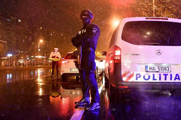 Már egész napos a kijárási tilalom Romániában