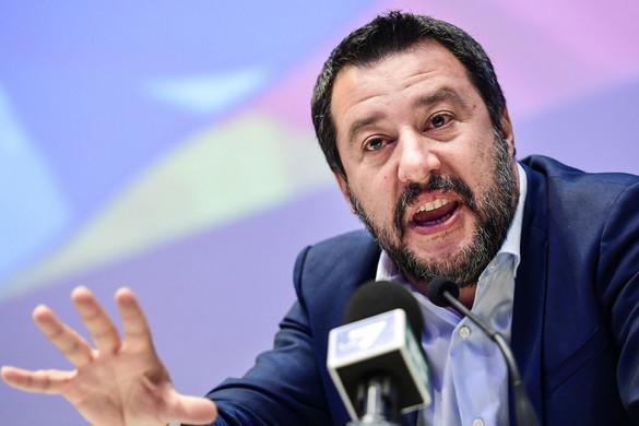 Salvini: Nem bántam meg az olasz határok védelmét