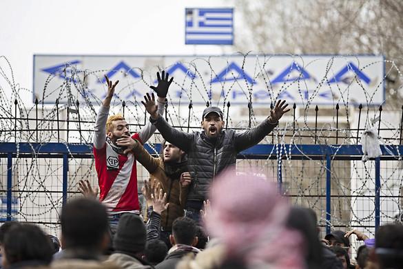Válságos a helyzet a török–görög határon