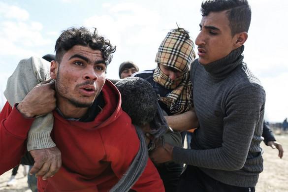 Ismét brutális összecsapások voltak migránsok és a görög hatóságok között a török határon