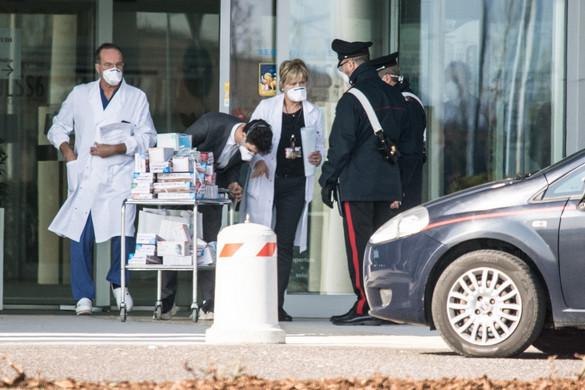 Már 79 áldozata van a koronavírusnak Olaszországban