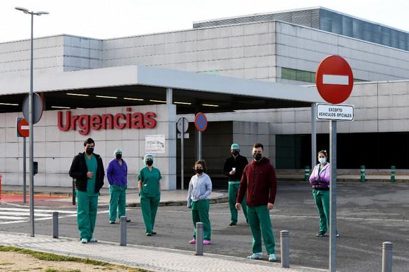 Spanyolországban több mint 3500 újabb fertőzést igazoltak egy nap alatt