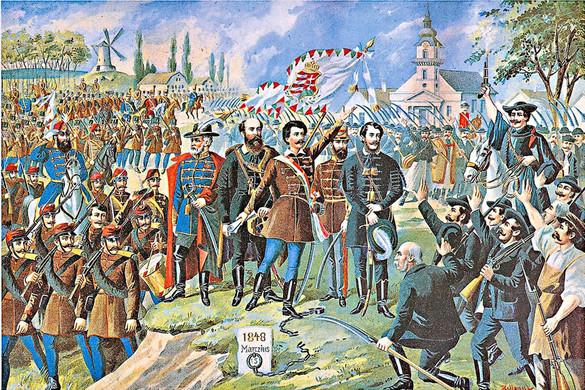 A forradalom ünnepe 1849-ben