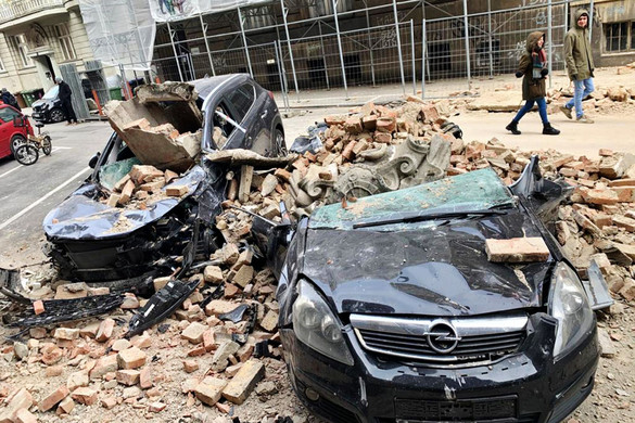 Katasztrófa sújtotta területté nyilvánították Zágrábot
