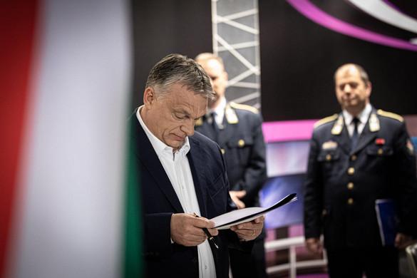 Orbán Viktor: Nem lehet elégszer elmondani