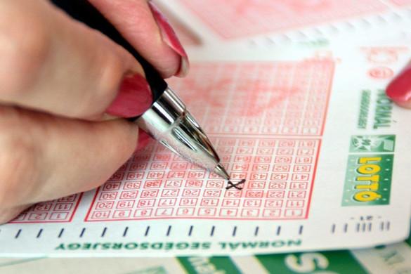 Egy szerencsés játékos elvitte az ötös lottó főnyereményét