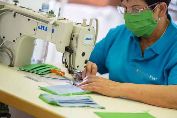 Már gyártják Magyarországon a szájmaszkokat