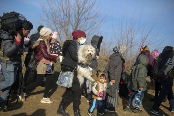 Migránscsoportok bukkantak fel Észak-Macedóniában