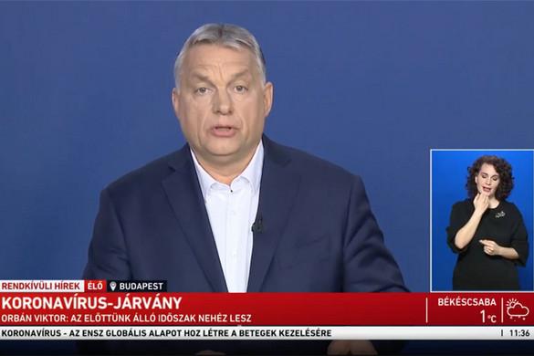 Orbán Viktor: Négy vonalon szerveztük meg a védekezést