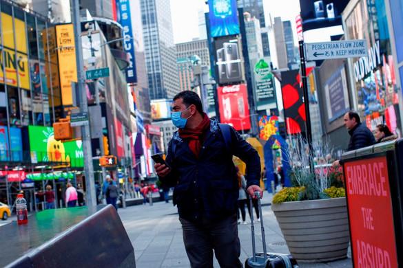 Megérkezett New Yorkba a járvány elleni orosz segélyszállítmány