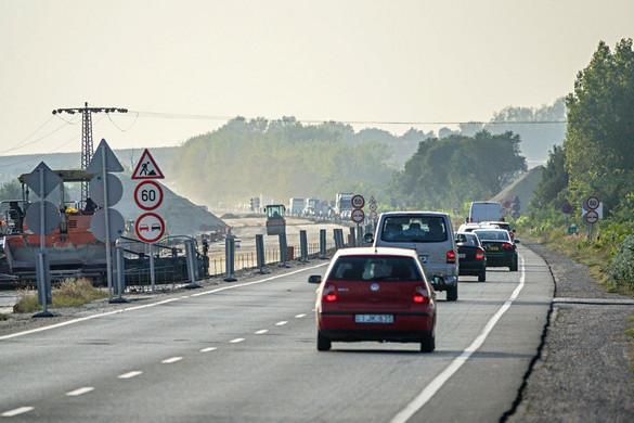 Iskolakezdésre ismét járható lesz az M0 hídja
