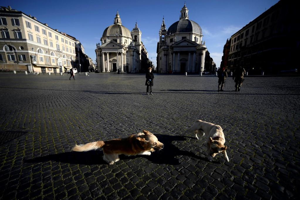 Virginia Raggi: Róma utcái teljesen üresek, szellemváros lettünk