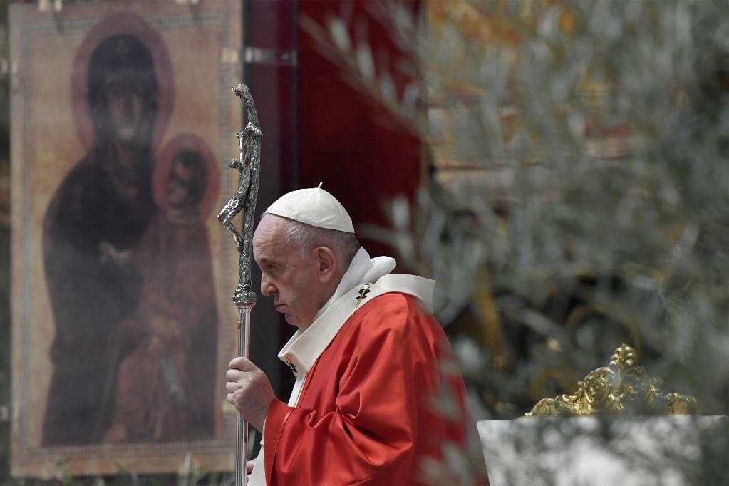 A mulandó helyett a valóban lényeges meglátására szólított fel Ferenc pápa