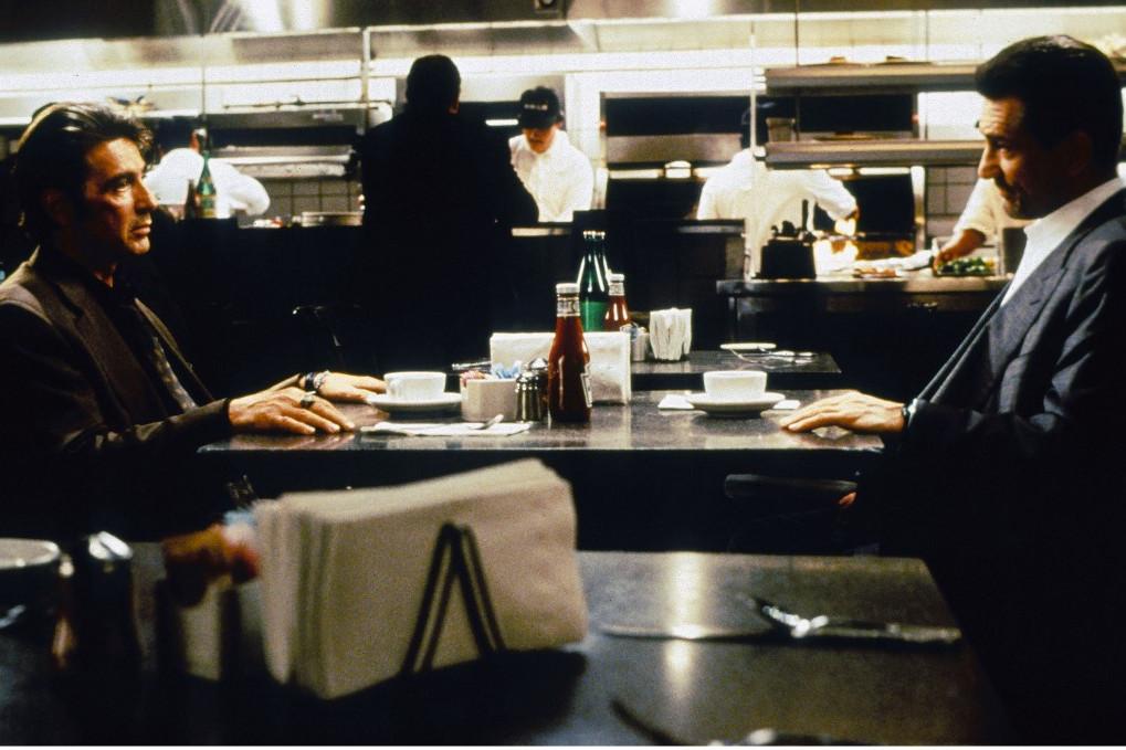1995 - Szemtől szemben: Először együtt a vásznon a két legenda, Al Pacino és Robert De Niro