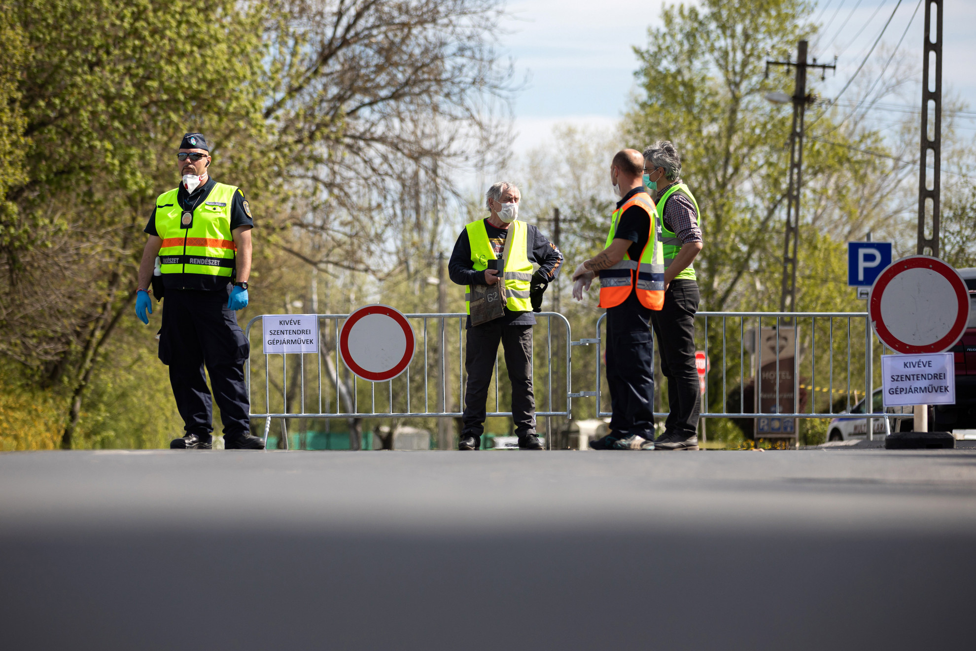 Önkormányzati rendészek Szentendrén