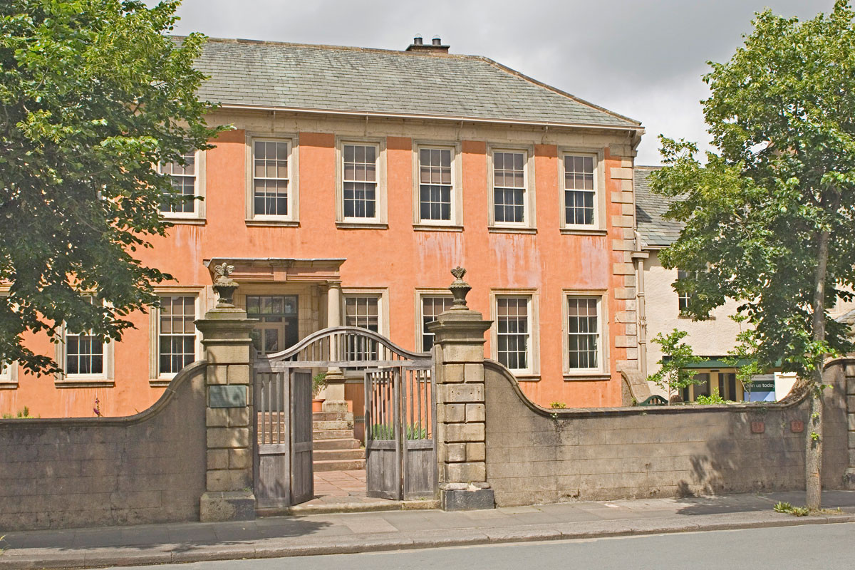 Wordsworth szülőháza az északnyugat-angliai Cockermouthban