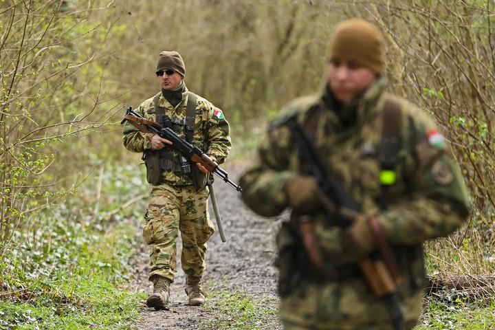 Határvédelem veszélyhelyzetben