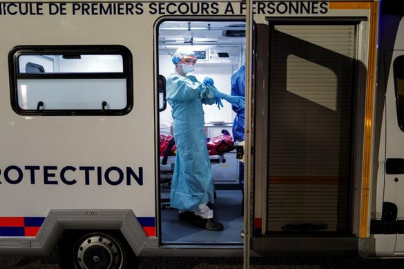 Franciaországban 6500 fölött a halottak száma