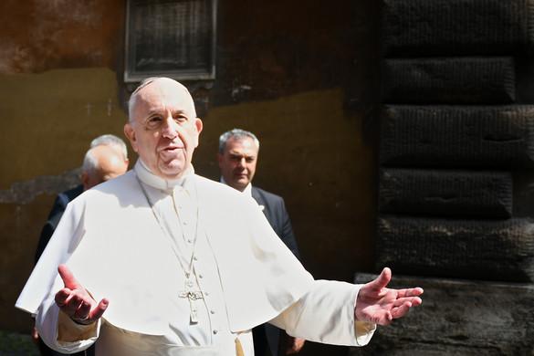 Ferenc pápa szerint az emberek közötti közömbösség a járványnál is pusztítóbb