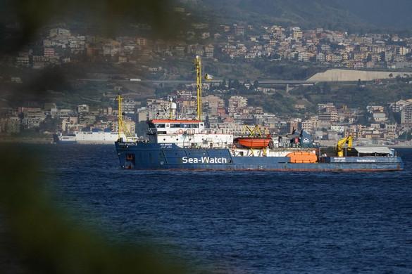 Lefoglalták a Sea-Watch német civilszervezet hajóját