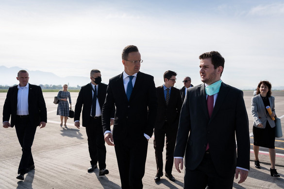 Szijjártó: A Nyugat-Balkán békéje és fejlődése Magyarország érdeke is