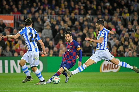 A Barcelona  futballistái keresik a legtöbbet