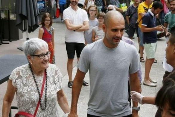 Koronavírus-fertőzésben elhunyt Pep Guardiola édesanyja