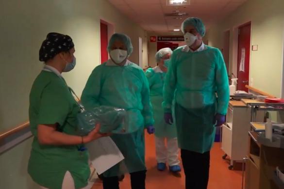 A Szent Imre Kórházban folytatta kórházellenőrző körútját Orbán Viktor