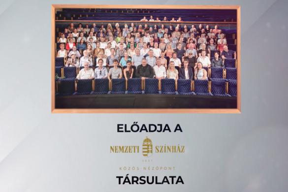Versvideót tett közzé a Nemzeti Színház a költészet napja alkalmából