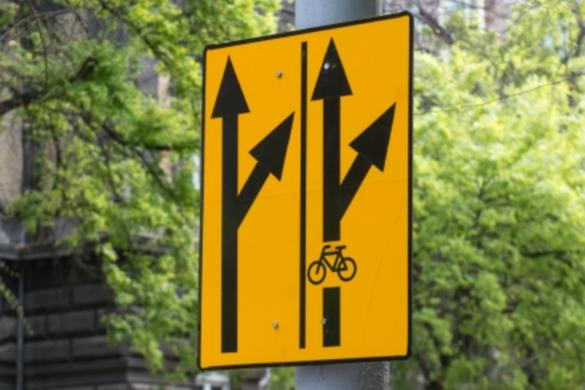 Ideiglenes kerékpársávot festenek fel a Nagykörúton