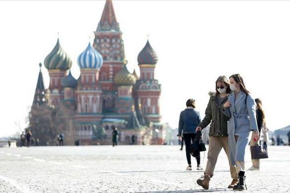 Moszkvában  QR-kód kell kell az utcára lépéshez