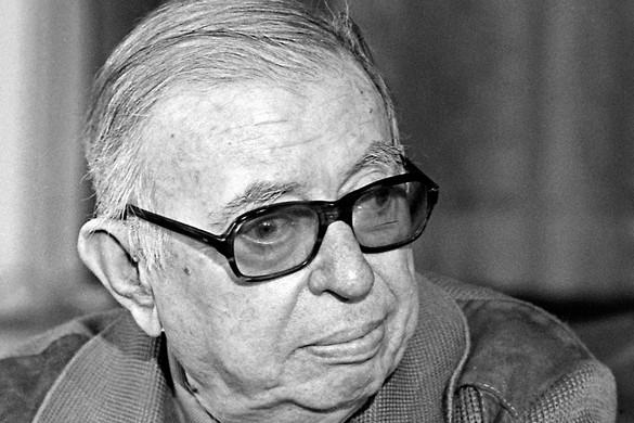 Negyven éve halt meg Jean-Paul Sartre Nobel-díjas filozófus és író