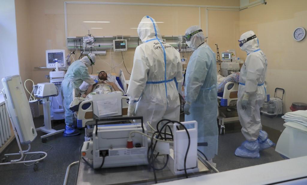 Oroszországban az új esetek 40,6 százaléka tünetmentes