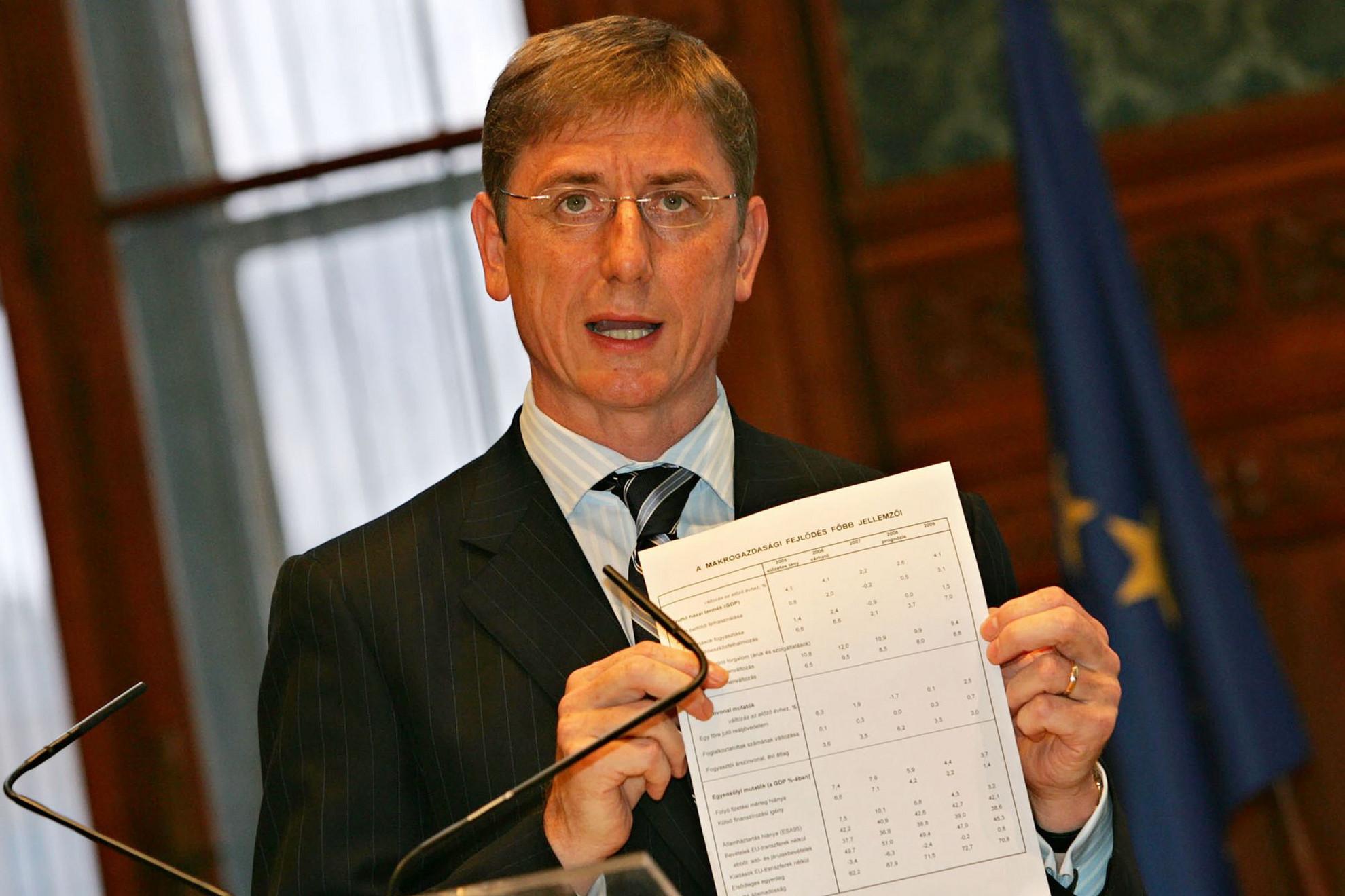 Kész átverés. Gyurcsány Ferenc miniszterelnökként 2006 tavaszán magyaráz