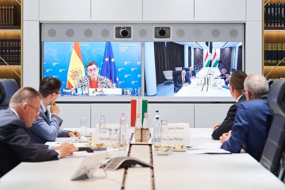 Spanyol kezdeményezésre 14 EU-s külügyminiszter vitatta meg videókonferencia keretében a Földközi-tenger térségében kialakult helyzetet