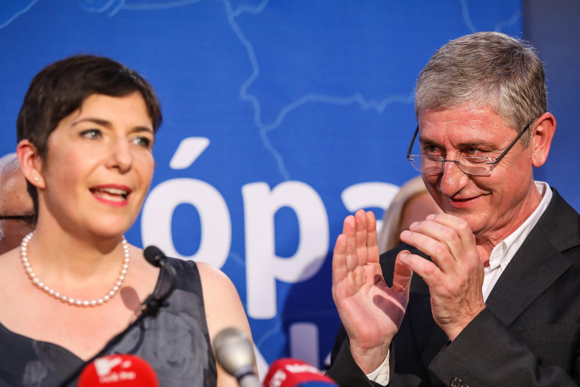 Gyurcsányné Dobrev Klára és Gyurcsány Ferenc